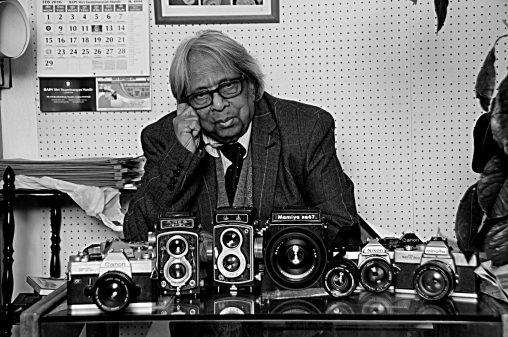 Masterji with cameras